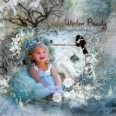 I using the beautifyl album,Using Winter Enchantment from MagicalReality Designs by Katherine Zdonczyk https://www.e-scapeandscrap.net/boutique/index.php…