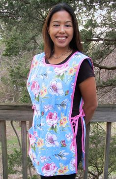 Cobbler Apron With Pockets Free Sewing Pattern