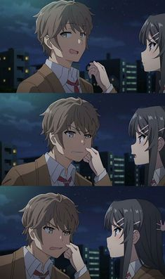 Rascal Does Not Dream Of Bunny Girl Senpai Sakuta Anime Backgrounds Wallpapers, Animes Wallpapers, Anime Love Couple, Cute Anime Couples, Mai Sakurajima, Tamako Love Story, Cute Anime Wallpaper, Dibujos Cute, Cute Anime Character