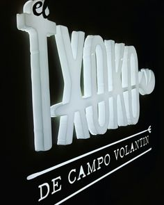 Cartel del logo de nuestro Txoko, el de campo volantin
