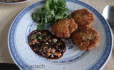 Thailändische Chickennuggets mit selbstgemachter Chilisoße