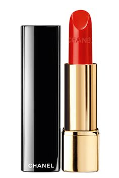 """Chanel Rouge Allure Luminous Intense Lip Color in Incandescente """"Just like the name states, this color literally lights up the face! It's be..."""