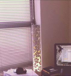 #lamp #flowers #imvelo #pvc #crafts