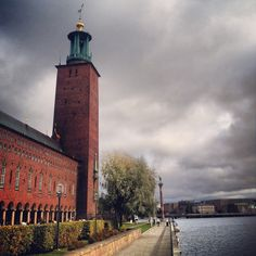 The City Hall of Stockholm.