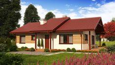 Wizualizacja ZA Dom w Luizjanie 1 CE Home Fashion, Gazebo, House Plans, Outdoor Structures, Cabin, House Styles, Outdoor Decor, Modern, Home Decor