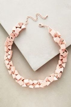 Anthropologie Seawall Necklace #anthroregistry #holidaygifts