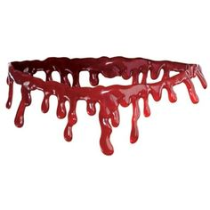 Dripping Blood Choker ($4.99) ❤ liked on Polyvore featuring jewelry, necklaces, choker necklace and choker jewelry
