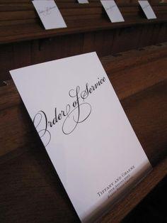 www.vivipaperie.co.uk order of service / wedding programme ivory wedding Wedding Stationary, Wedding Programs, Invite, Invitations, Wedding Stuff, Wedding Ideas, Service Ideas, Order Of Service, Ivory Wedding