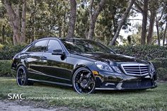 US custom car company Hess Motorsports has decided to give a new identity to the Mercedes fitting the car with a list of goodies that turns it into a piece of eye candy. Mercedes G Wagon, Mercedes Maybach, Mercedes Benz E350 Coupe, Custom Mercedes, Lux Cars, Benz S Class, Car Goals, My Ride, Custom Cars