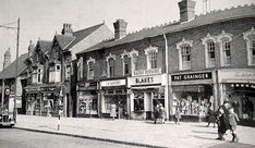 Watford Road in Cotteridge in Birmingham City Centre, Birmingham England, Watford, West Midlands, World History, Old Pictures, Historical Photos, Street View, Change