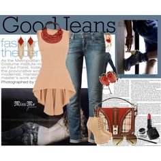Jeans by grachy on Polyvore