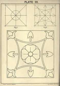 see site for many more - see site fore many more - 1895 - Cusack's freehand ornament. A text book with chapters on elements, principles, and methods of freehand drawing, for the general use of teachers and students . by Armstrong, Charles Doodle Designs, Stencil Designs, Carving Designs, Ornament Drawing, Medieval Tapestry, Leather Carving, Greek Art, Ornaments Design, Hand Embroidery Patterns