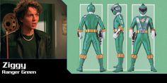Ziggy Grover (Ranger Green) - Power Rangers RPM | Power Rangers Central