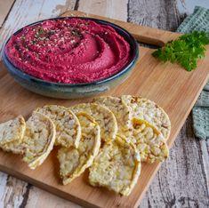 RØDBETE-HUMMUS Tahini, Hummus, Smoothie, Ethnic Recipes, Dip, Food, Salsa Music, Dips, Smoothies