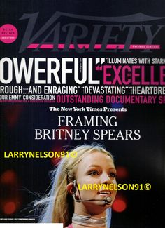 Variety Magazine, Anya Taylor Joy, Kaley Cuoco, Editing Pictures, Britney Spears, Nonfiction, Documentaries, Magazines, Brithney Spears