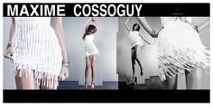 Lovely Dress Designed By Maxime Cossoguy