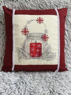 Vánoční polštářek