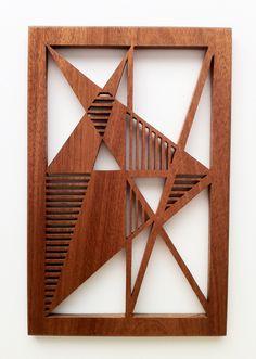 wood art piece