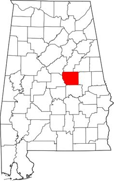 Coosa County founded 1832 * The Coosa River lies on the western border of Coosa County.  * During the late 20th century, Coosa County was a center of the textile industry.  * The Old Jail in Coosa County is on the National Register of Historic Places as the oldest jail in Alabama.  * In 1926, Alabama Power Company constructed the Thomas W. Martin Dam on the Tallapoosa River, resulting in the formation of Lake Martin.