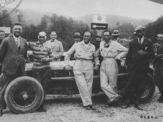 Enzo Ferrari, Tazio Nuvolari . . Scuderia Ferrari Alfa Romeo 1931