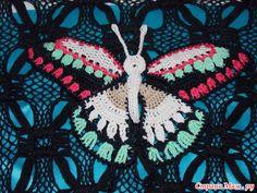 ergahandmade: Crochet mariposa + Diagramas