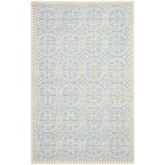Safavieh Handmade Moroccan Cambridge Light Blue Wool Rug - Overstock™ Shopping - Great Deals on Safavieh 7x9 - 10x14 Rugs