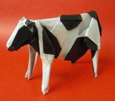 折り紙:牛