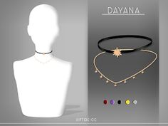 DAYANA CHOKER New Mesh 5 Swatches All Lods Base Game Compatible Custom thumbnail Found in Necklace Category Teen to Elder If you use my cc don't forget to tag me as well for se your sims using it! Sims 3, The Sims 4 Pc, Sims 4 Mm Cc, Sims 4 Cas, Los Sims 4 Mods, Sims 4 Game Mods, Maxis, Sims 4 Mods Clothes, Sims 4 Clothing