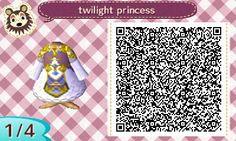Animal Crossing: New Leaf: QR Codes- Clothing
