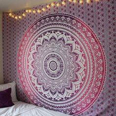 Pink Ombré Tapestry