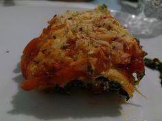 Cozinha de uma desastrada: Canelones de espinafres e queijo ricota