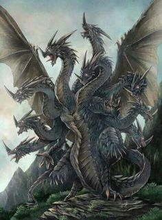 a collection of inspiration for settings, npcs, and pcs for my sci-fi and fantasy rpg games. hopefully you can find a little inspiration here, too. Dark Fantasy Art, Fantasy Artwork, Fantasy Monster, Monster Art, Magical Creatures, Fantasy Creatures, Hydra Monster, Cool Dragons, Fantasy Beasts