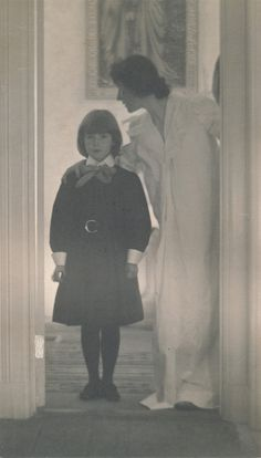 Blessed Art Thou among Women, photographer Gertrude Käsebier, from the collection of Alfred Stieglitz at the Metropolitan Museum of Art, New York