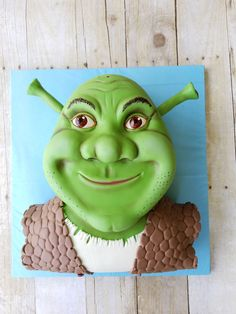 Shrek's Head  on Cake Central