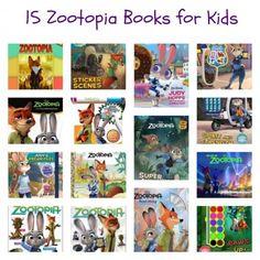 15 Zootopia books for kids