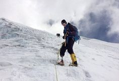 Marine amputee, Staff Sgt. Charlie Linville, conquers and summits Mount Everest