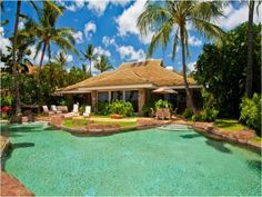 Beach Front Rental Home with Pool in Lahaina, Hawaii
