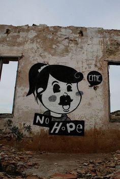 Street Art - Graffiti - Urban culture.