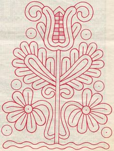 Chain Stitch Embroidery, Embroidery Stitches, Embroidery Patterns, Machine Embroidery, Hungarian Embroidery, Folk Embroidery, Learn Embroidery, Stitch Head, Antique Quilts