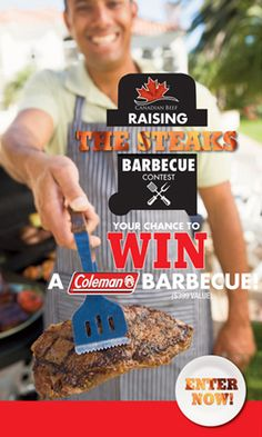 Win a Coleman Barbecue