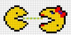 Minecraft Pixel Art Templates: Pacman