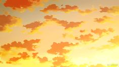 New post on sunshine-and-happy-things Orange Aesthetic, Aesthetic Gif, Aesthetic Videos, Aesthetic Pictures, Aesthetic Wallpapers, Anime Gifs, Anime Art, Anime Triste, Anime Scenery