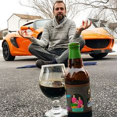 Instagram - Darrin Wingard is drinking a new beer every day and has been for the last 858 days. He chronicles his adventure on Instagram, offering a description of the beer and his thoughts on how it tastes.  https://instagram.com/p/y281qeLP8q/?taken-by=newbeeraday