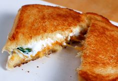 We dare you to stop staring at this Jalapeño Popper Sandwich. Yeah, we couldn't either.