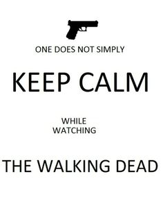 The best keep calm reference. I literally freak out every 5 minutes. o.o