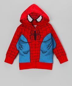 Red Spider-Man Hoodie - Kids   Daily deals for moms, babies and kids