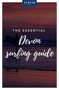 We present our list of the best surfing beaches in Devon, starting with our favourite. Psssst, this list includes places known only to the locals, so whatever you do, keep this info to yourself! Devon Holidays, Self Catering Cottages, Things To Do, Good Things, Holiday Destinations, The Locals, Beaches, Insight, Infographic