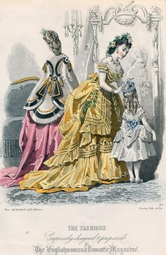 The Englishwoman's Domestic  January 1871