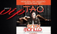 MEMORIAL DAY TAO 2012ESCORTED BY SHEETS VIP TO YOUR PRIVATE PREMIUM TABLE- PRIVATE AREA SECURITY- TRADITIONAL MIXERS INCLUDE-( ORANGE JUICE, SODA WATER, TONIC, CRANBERRY JUICE)  INCLUDES 3K OF DRINK MIN- RED BULL