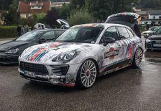 Porsche Macan, Porsche 911, Martini Racing, Audi Cars, Car Wrap, Car Show, Super Cars, Honda, Automobile